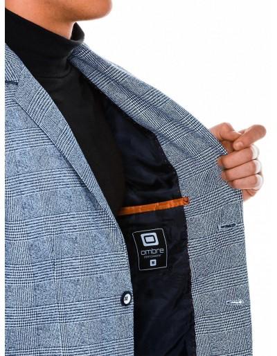 Men's casual blazer jacket M92 - light navy