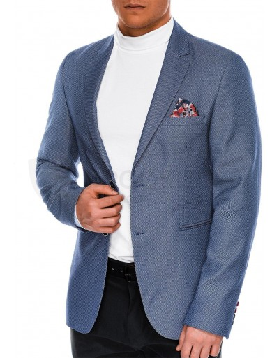 Men's casual blazer jacket M100 - navy