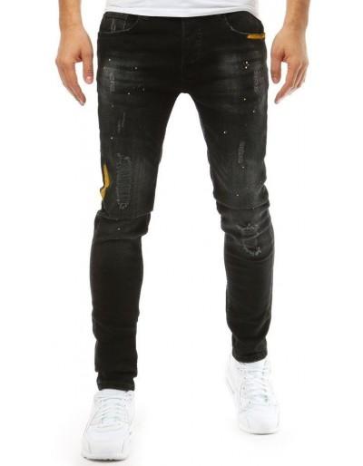 Černé pánské riflové kalhoty UX1877