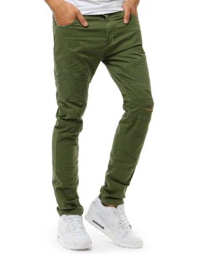 Zelené pánské riflové kalhoty UX1894