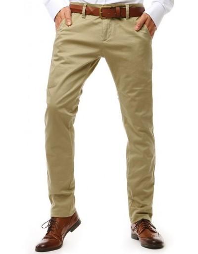 Béžové pánské chino kalhoty UX1905