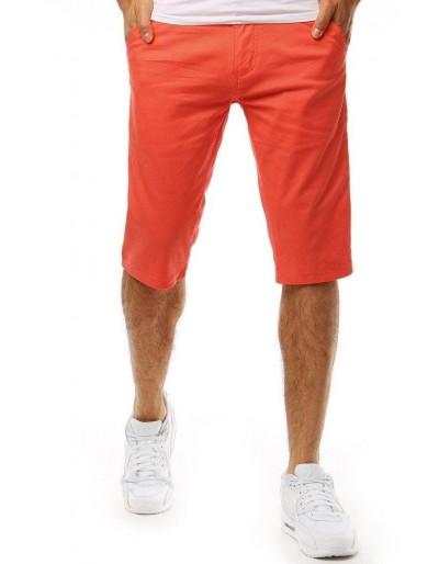 Oranžové pánské kraťasy SX0927