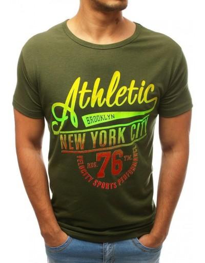 Zelené pánské tričko RX3500
