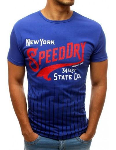 Modré pánské tričko RX3541 s potiskem