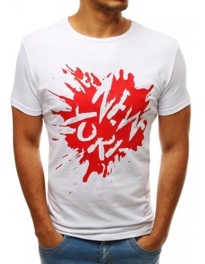 Bílé pánské tričko RX3548