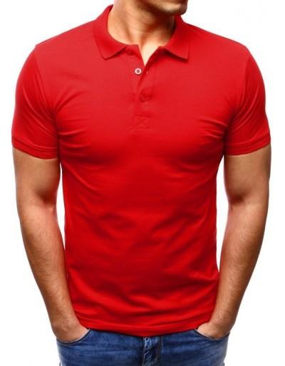 Pánská červená polokošile PX0189