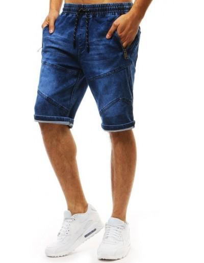 Pánské džínové kraťasy modré barvy SX0962
