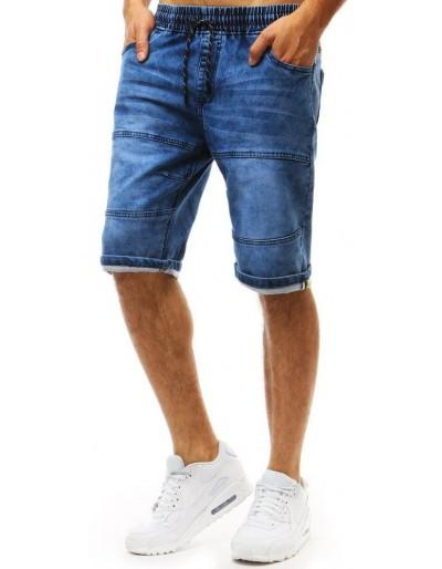 Pánské džínové kraťasy modré barvy SX0966