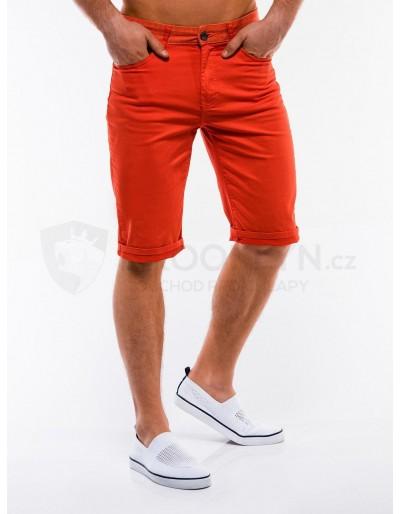 Men's chino shorts W214 - orange