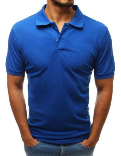 Pánská modrá polokošile PX0206