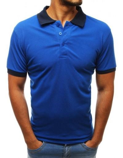 Pánská modrá polokošile PX0227