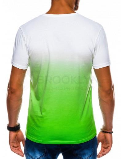 Men's plain t-shirt S1036 - green