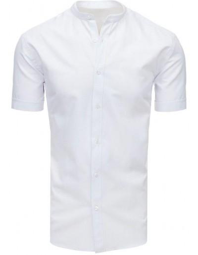 Bílé pánské tričko s krátkým rukávem KX0898