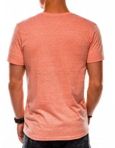 Men's plain t-shirt S1045 - orange