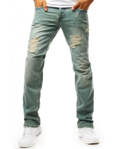 Pánské džíny s trhliny UX1962