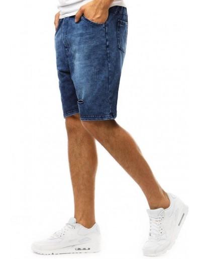 Pánské džínové kraťasy SX0999 tmavě modré
