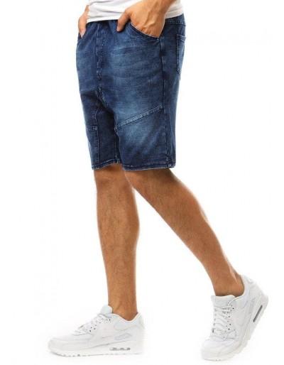 Pánské džínové kraťasy tmavomodré barvy SX1050