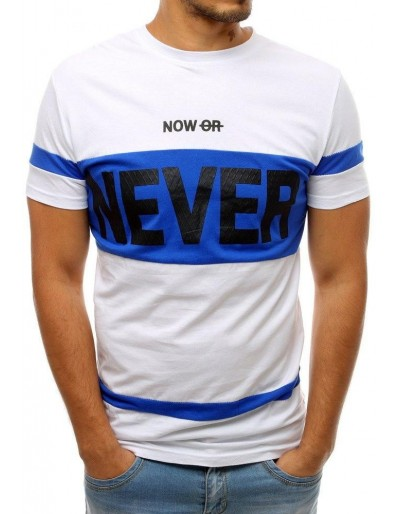 Bílé pánské tričko RX3723