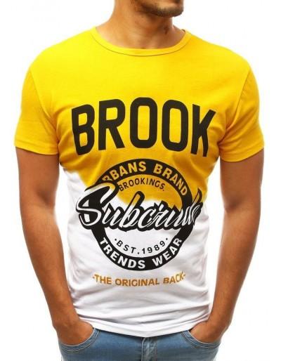 Žluté pánské tričko RX3751