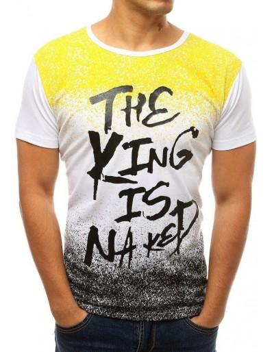 Pánské bílé tričko RX3796