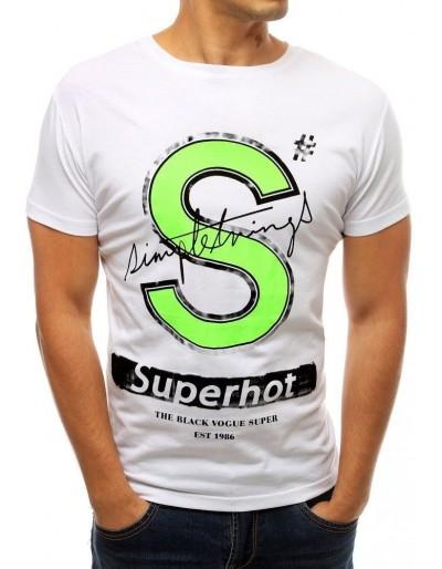 Bílé pánské tričko RX3798