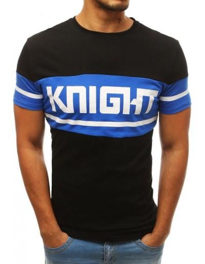 Černé pánské tričko RX3805 s potiskem