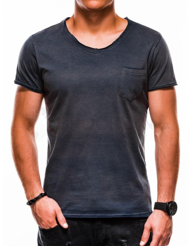 Pánské tričko s potiskem S1049 - námořnictvo
