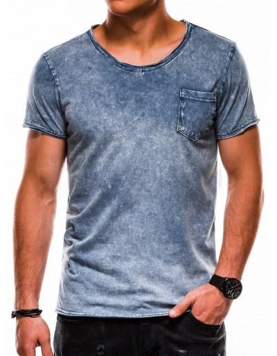 Pánské obyčejné tričko S1050 - námořnictvo