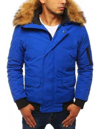 Modrá pánská zimní bunda TX2871