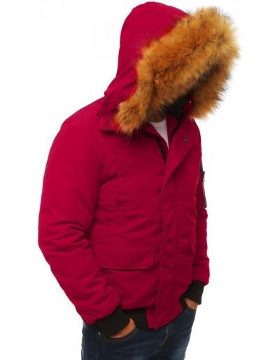 Kurtka męska zimowa bordowa TX2872