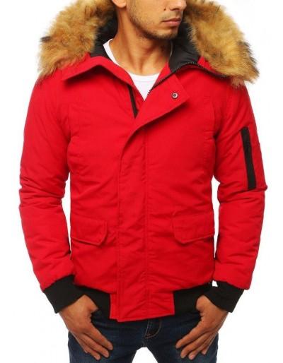 Červená pánská zimní bunda TX2875