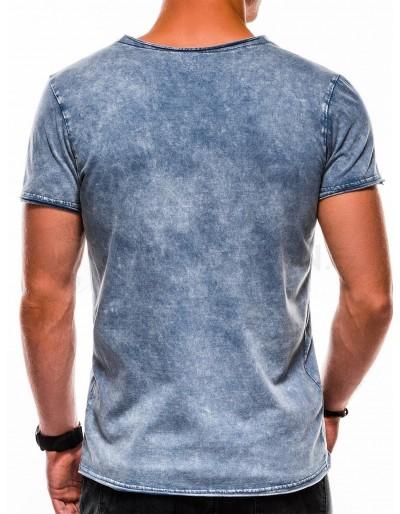 Men's plain t-shirt S1050 - navy