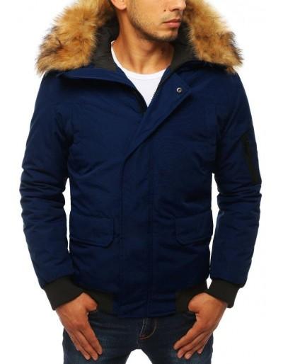 Námořnická modrá pánská zimní bunda TX2877