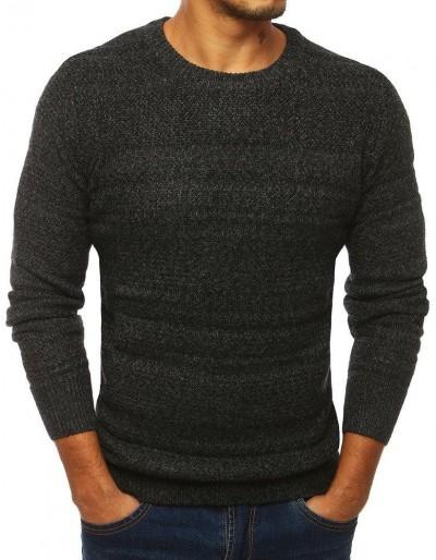 Tmavě šedý pánský svetr WX1289