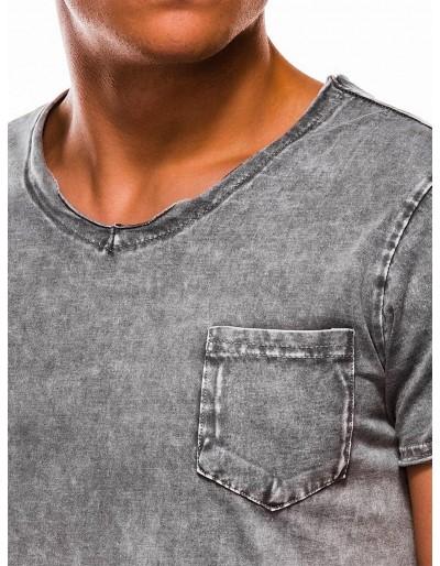 Men's plain t-shirt S1050 - grey