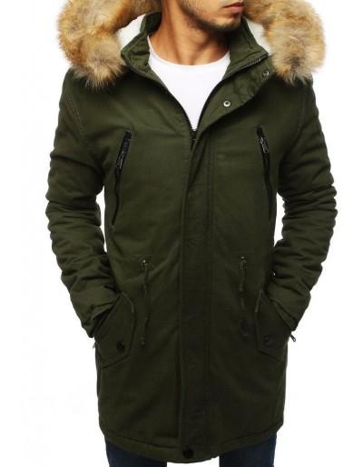 Pánská khaki zimní parka bunda TX2893