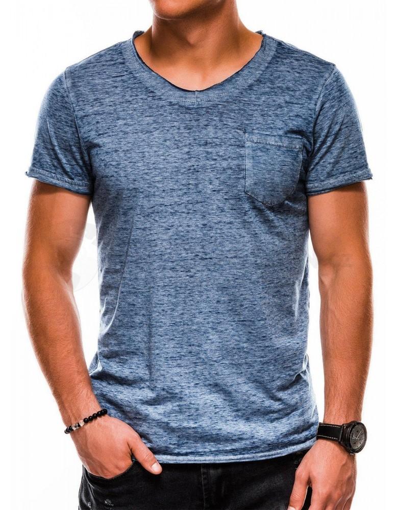 Pánské obyčejné tričko S1051 - námořnictvo