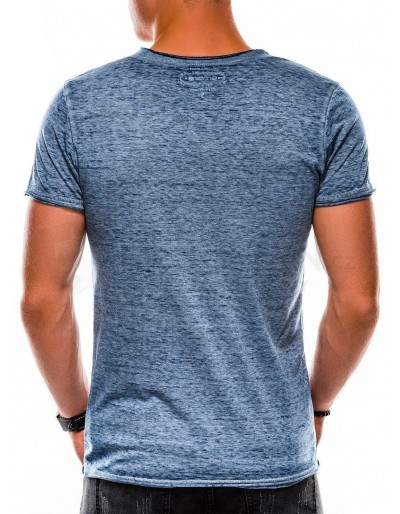 Men's plain t-shirt S1051 - navy