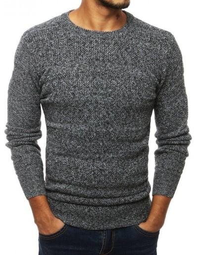 Šedý pánský svetr WX1315