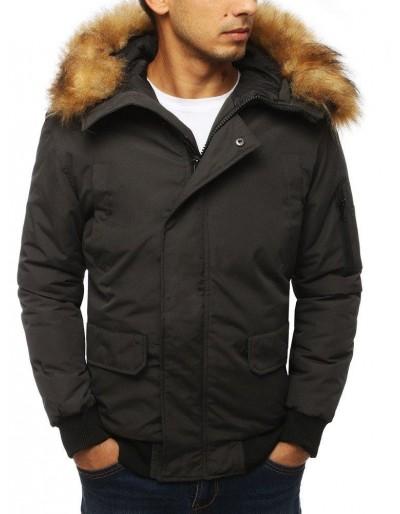 Pánská zimní bunda antracitová TX2968