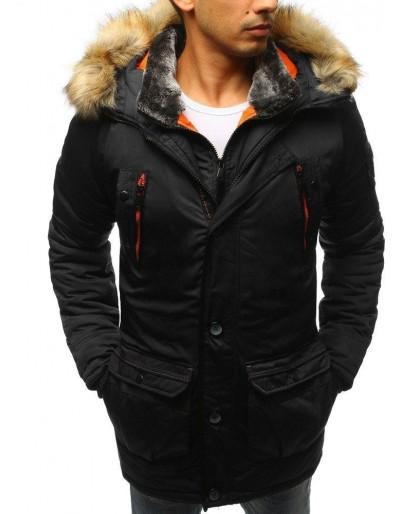 Černá pánská zimní bunda TX2984