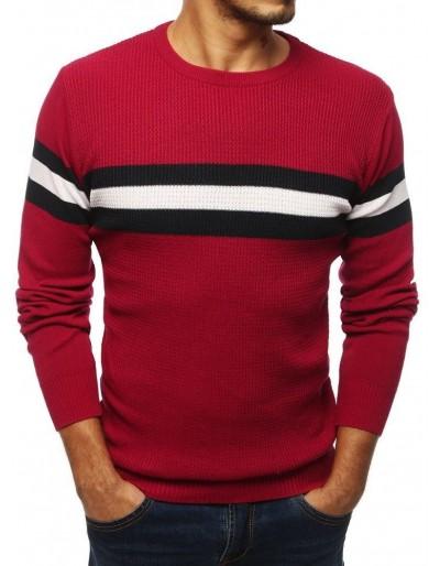 Pánský bordový svetr WX1344