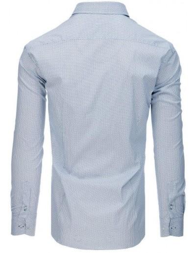 Koszula męska PREMIUM z długim rękawem biała DX1766