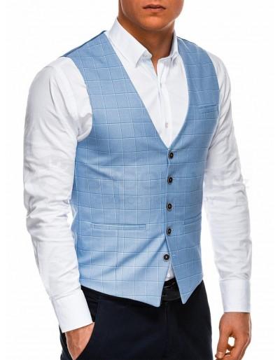 Pánská vesta V48 - modrá
