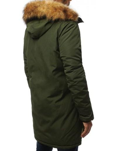 Kurtka męska parka zimowa zielona TX2994