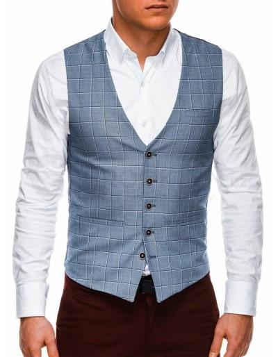 Men's vest V48 - dark blue