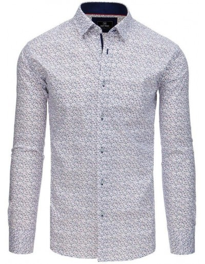 PREMIUM pánská košile s dlouhým rukávem, bílá DX1769