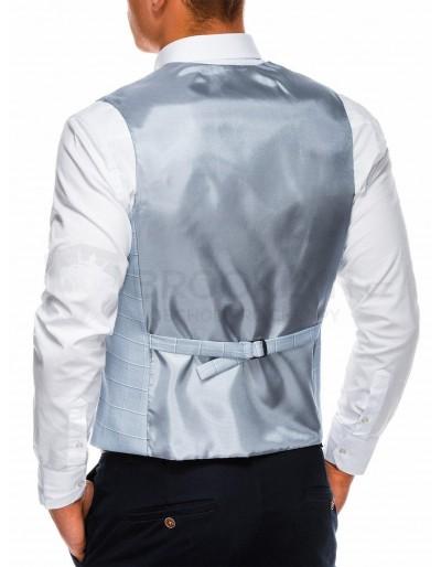 Men's vest V48 - light blue