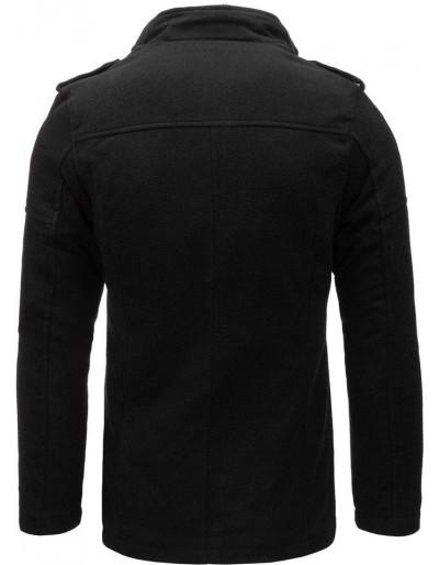 Płaszcz męski czarny CX0399