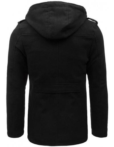 Płaszcz męski czarny CX0400